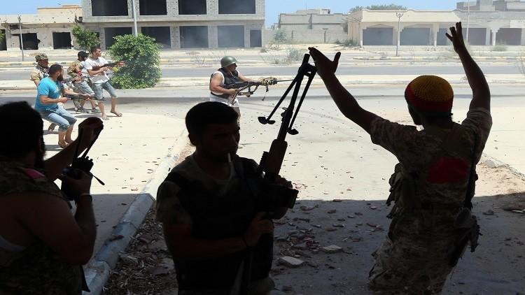 قوات ليبية تحرز تقدما في سرت على طول الساحل