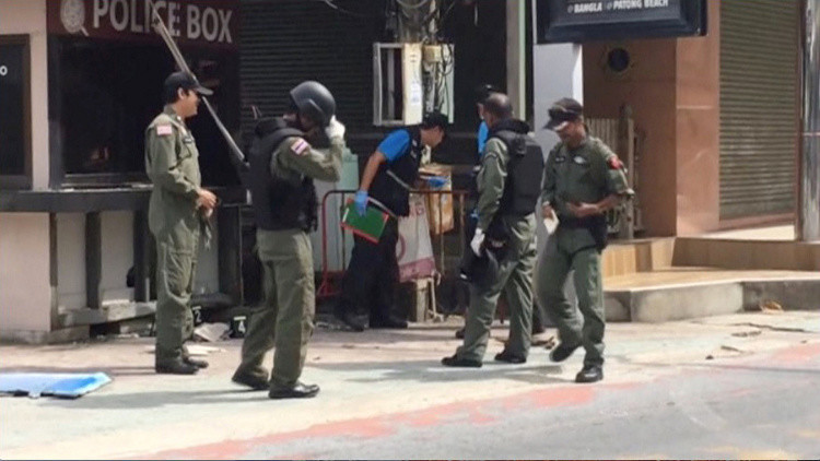 الجيش التايلاندي يعتقلعددا من الأشخاص على خلفية التفجيرات الأخيرة