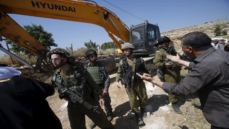 الجيش الإسرائيلي يهدم منزل فلسطيني قتل فتاة إسرائيلية أمريكية