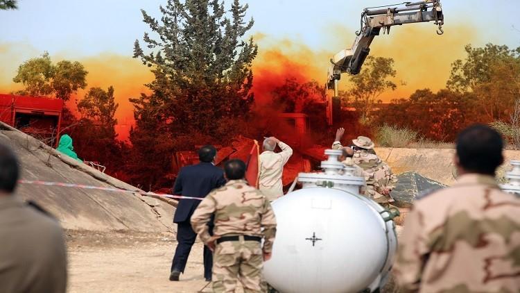 الدنمارك قد تشارك في نقل سلاح كيميائي من ليبيا