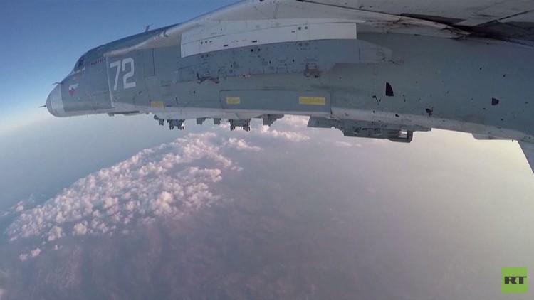 قاذفات روسية تنطلق من إيران وتقصف بسوريا