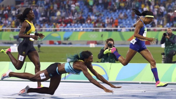 ريو 2016.. قفزة الباهاماسية ميلر تهديها ذهبية 400 متر