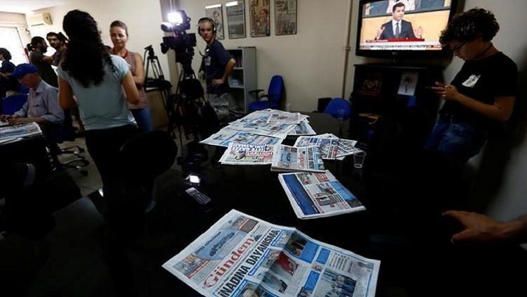 تركيا.. إغلاق صحيفة بتهمة نشر الدعاية لصالح