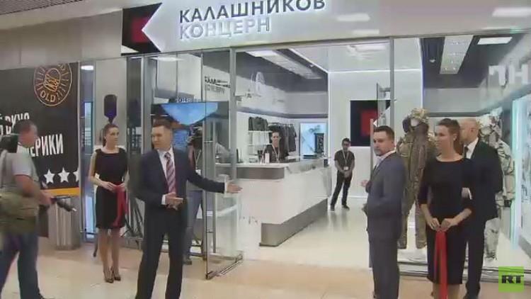شركة كلاشينكوف تفتح متجرها في مطار شيريميتيفو