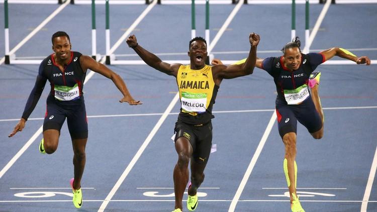 ريو 2016.. ذهبية سباق 110 م حواجز للجامايكي ماكليود