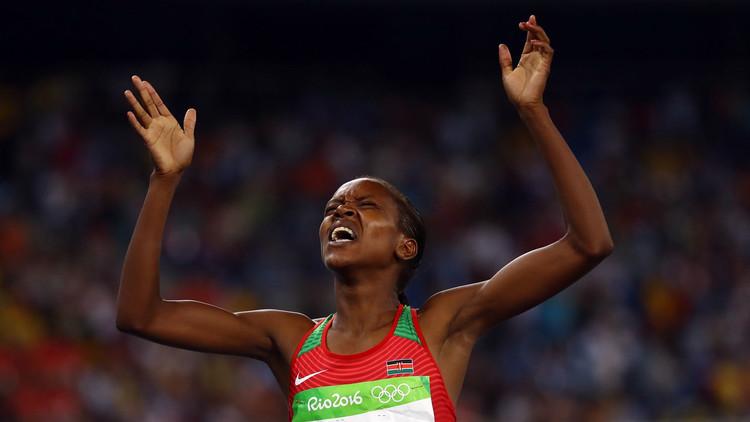 ريو 2016 .. الكينية كيبييغون تتوج بذهبية سباق 1500 م
