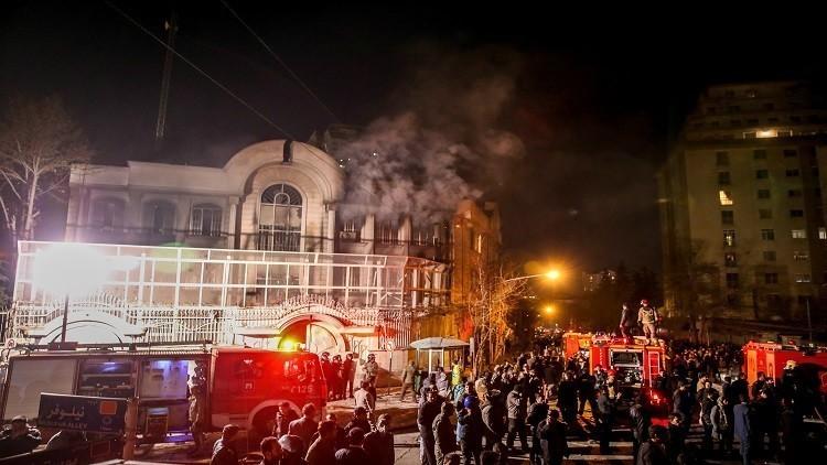 إيران تنفي إصدار أحكام ضد المتهمين باقتحام السفارة السعودية