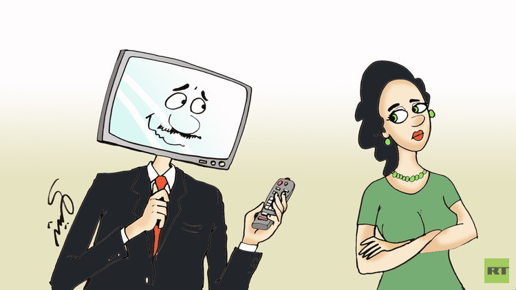كيف تؤثر مشاهدة التلفاز على الرجل؟