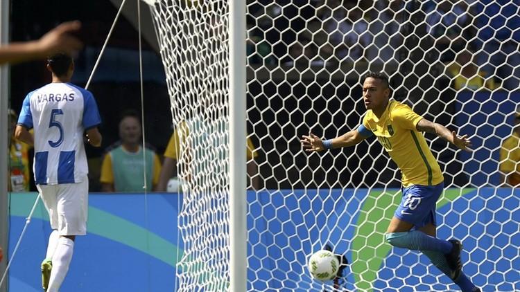 نيمار يسجل أسرع هدف في تاريخ الأولمبياد !