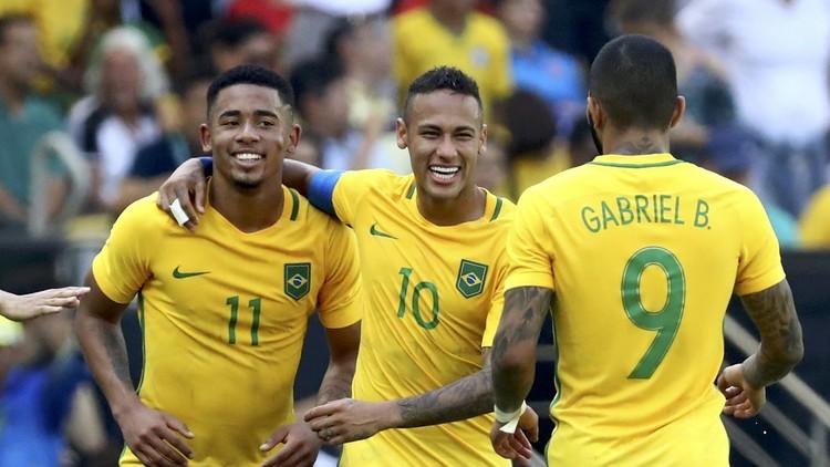 ريو 2016.. البرازيل تقسو على هندوراس وتبلغ النهائي