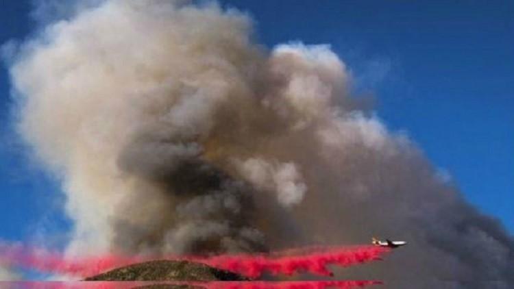 إجلاء الآلاف بسبب حرائق غابات كاليفورنيا