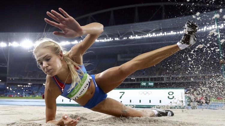الروسية كليشينا تودع منافسات الوثب الطويل في ريو