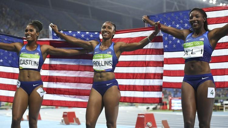 ريو 2016.. أمريكا تهيمن على سباق 100 متر حواجز
