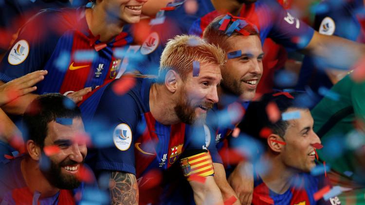 برشلونة يتوج بكأس السوبر الإسباني للمرة الـ 12 في تاريخه