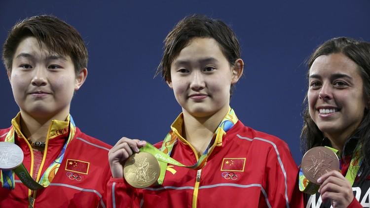 الصينية كيان رين تتوج بذهبية الغطس من منصة 10 م