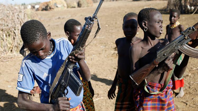 تجنيد 16 ألف طفل بجنوب السودان منذ 2013