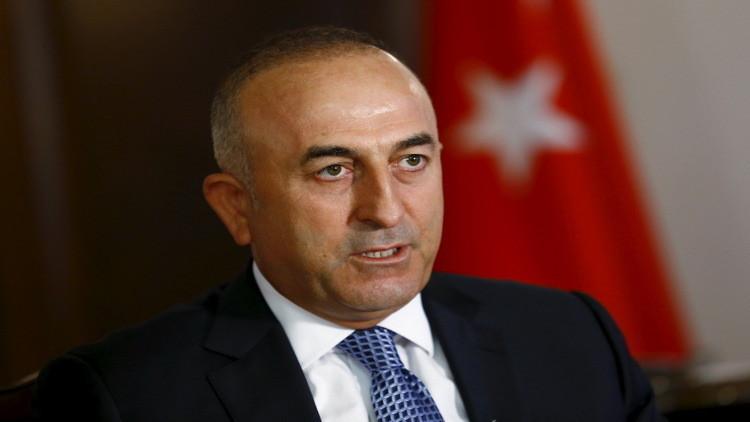 زيارة خاطفة لوزير خارجية تركيا إلى إيران