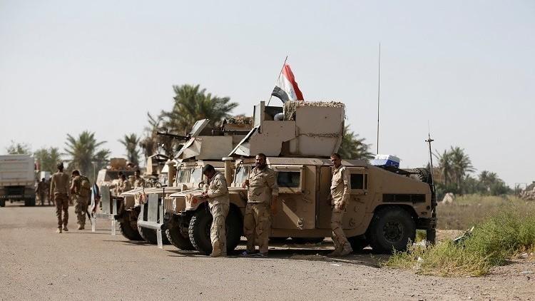 القوات العراقية تحرر جزيرة الخالدية في الأنبار