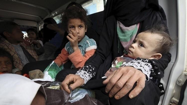 منظمة دولية: عدد النازحين في اليمن تجاوز 3 ملايين