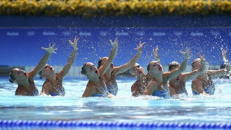 ريو 2016.. حسناوات روسيا يتوجن بذهبية السباحة التزامنية