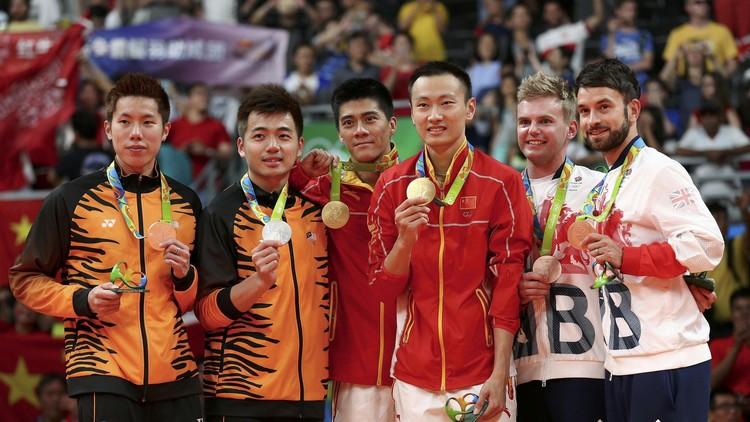 ريو 2016.. الصين تحرز ذهبية زوجي الرجال في الريشة الطائرة