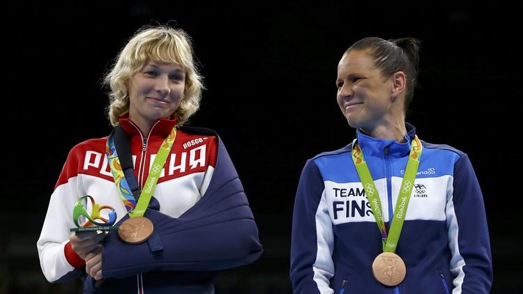 الروسية بيلياكوفا تنال برونزية الوزن الخفيف في الملاكمة