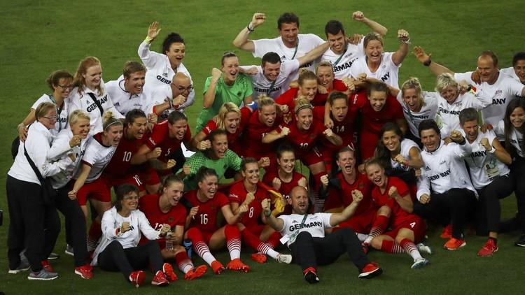 القدم الألمانية مرصعة بذهب أولمبياد ريو 2016