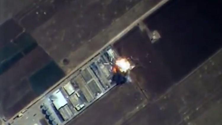 الصواريخ الروسية تقصف مصنع أسلحة في حلب