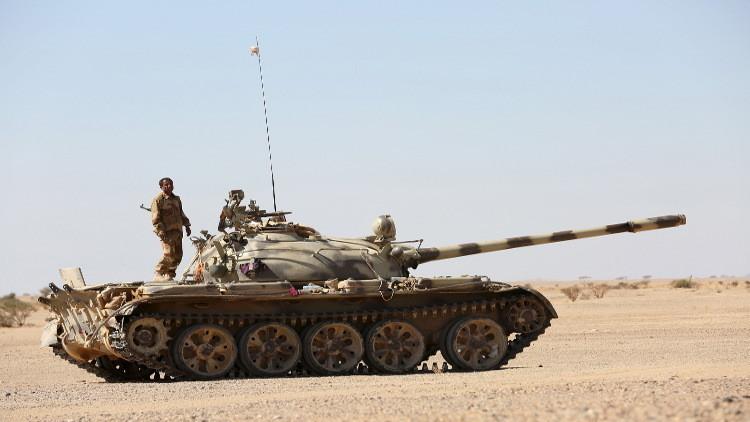 قوات هادي تحرر موقع البياض الاستراتيجي في نهم