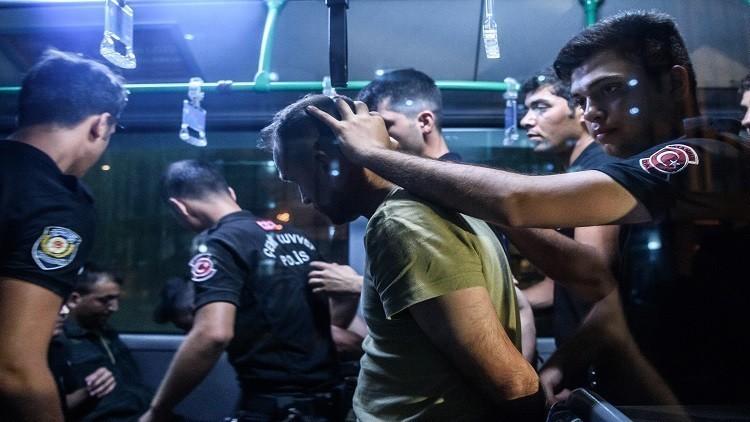 توقيف 22 من القضاة العسكريين في تركيا