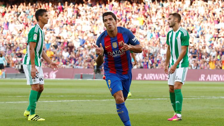 برشلونة يقسو على ضيفه ريال بيتيس