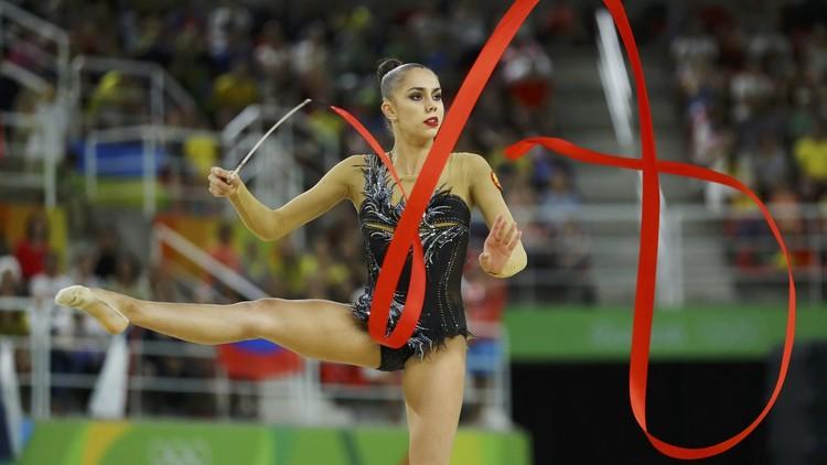 الروسية مامون تفوز بذهبية الجمباز الفني