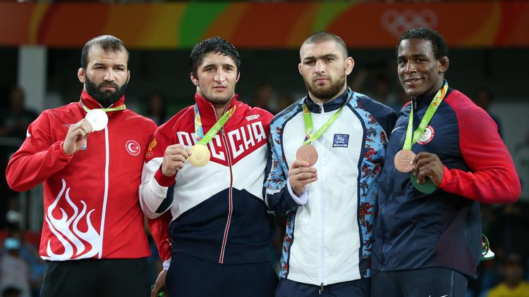 روسيا تحصد ذهبية المصارعة لوزن ما دون 86 كلغ
