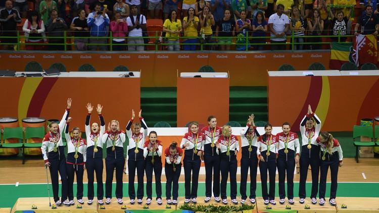 اليد الروسية تنتزع ذهبية أولمبياد