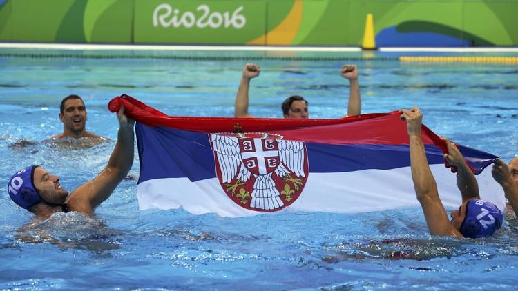 صربيا تنتزع ذهبية كرة الماء من غريمتها اللدودة كرواتيا