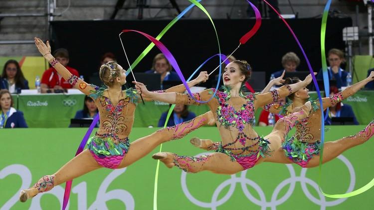 روسيا ملكة للجمباز الفني في ريو .. (صور)