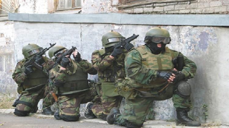 اختبار مفاجئ لوحدات مكافحة الإرهاب في داغستان