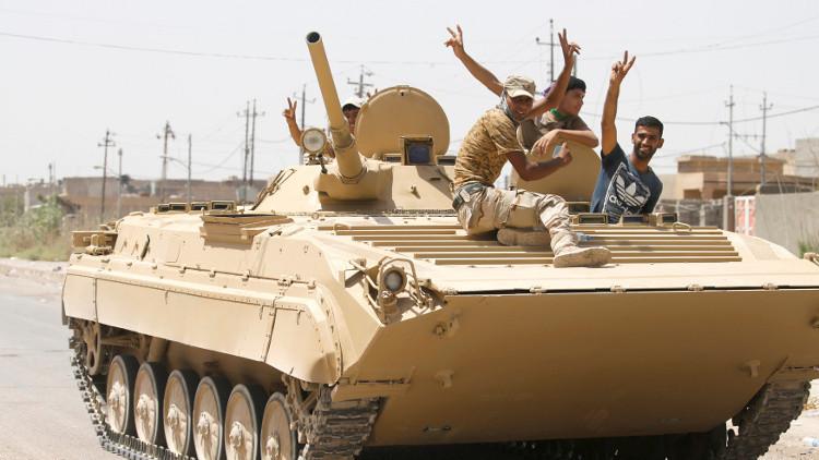 القوات العراقية تسيطر على مركز القيارة بالكامل