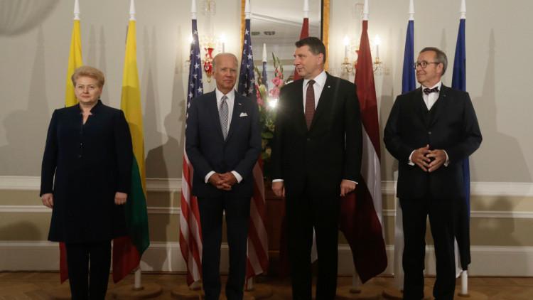 بايدن: نؤكد التزاماتنا أمام الناتو ودول البلطيق