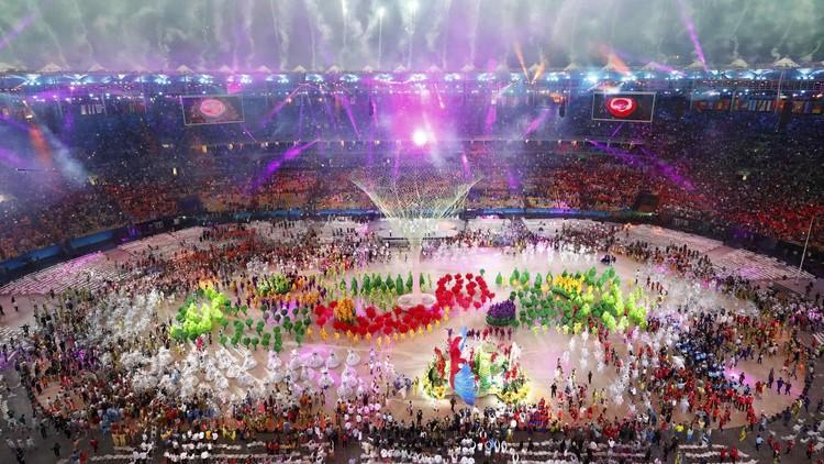 بالصور .. حفل ختام أولمبياد