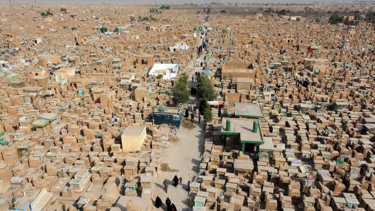 أكبر مقبرة في العالم تتسع بارتفاع ضحايا الإرهاب