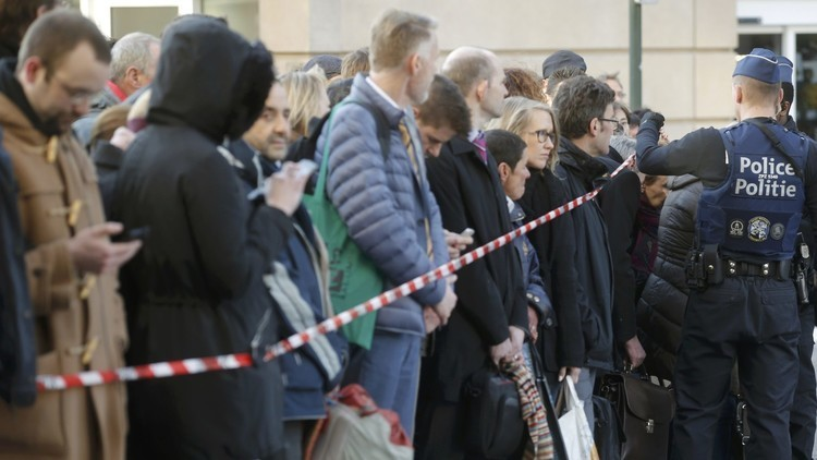 دوافع منفذة عملية الطعن في بروكسل ليست إرهابية