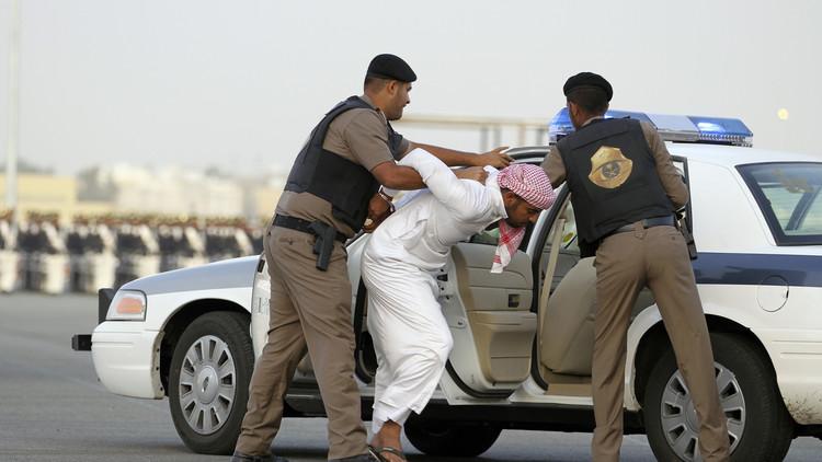صورة من تدريبات الشرطة السعودية