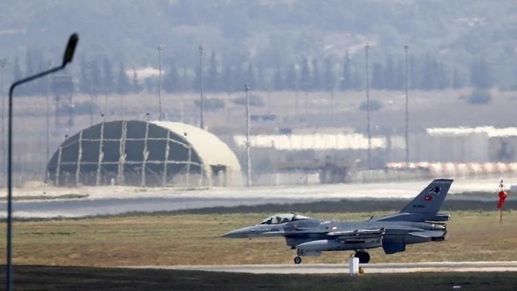 مقاتلات تركية فوق سوريا لأول مرة منذ حادثة سو24