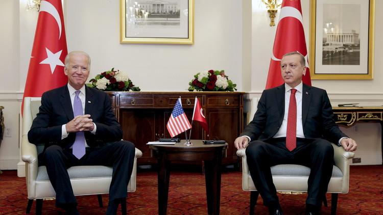 أردوغان: سنقدم وثائق جديدة لبايدن تثبت تورط غولن في محاولة الانقلاب