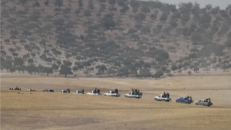 المجموعات المسلحة السورية تدخل جرابلس بدعم تركي