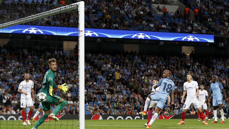 مانشستر سيتي يبلغ دور المجموعات لدوري الأبطال