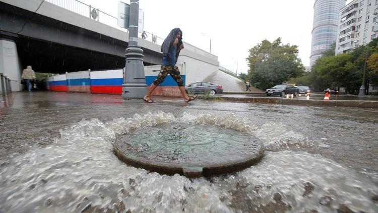 آب الجاري أكثر الأشهر غزارة بالأمطار في موسكو
