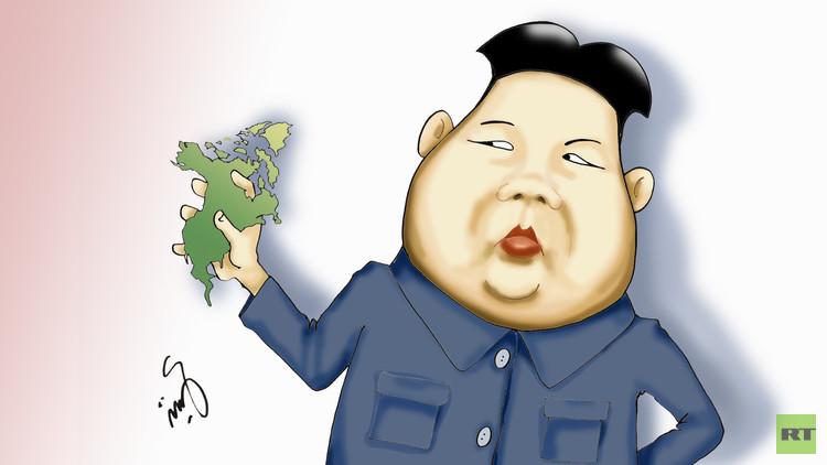 الزعيم الكوري: القارة الأمريكية في قبضتنا