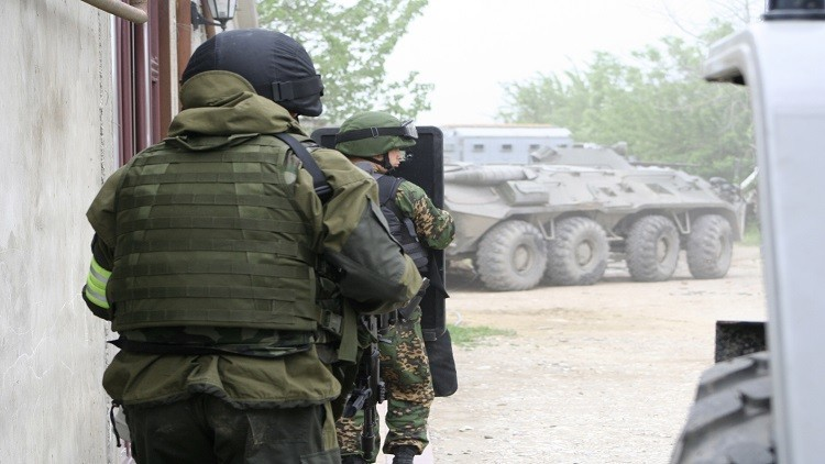 تصفية رجل مسلح في داغستان